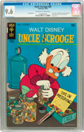 Bronze Age (1970-1979):Cartoon Character, Uncle Scrooge #89 (Gold Key, 1970) CGC NM+ 9.6 Off-white to white pages....