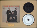"Music Memorabilia:Recordings, Beatles ""Do You Want to Know a Secret"" 45 and Mother Display(Vee-Jay 587, 1964)...."