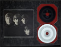 """Music Memorabilia:Recordings, Beatles """"From Me to You"""" 45 and Mother Display (Vee-Jay 581,1964)...."""