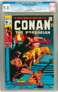 Bronze Age (1970-1979):Superhero, Conan the Barbarian #5 (Marvel, 1971) CGC NM/MT 9.8 White pages....