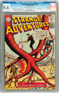 Silver Age (1956-1969):Science Fiction, Strange Adventures #139 Twin Cities pedigree (DC, 1962) CGC NM 9.4Off-white to white pages....