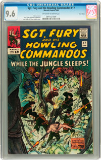 Sgt. Fury and His Howling Commandos #17 Twin Cities pedigree (Marvel, 1965) CGC NM+ 9.6 Off-white to white pages