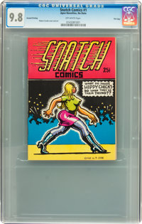 Snatch Comics #1 Second Printing File Copy (Apex Novelties, 1968) CGC NM/MT 9.8 Off-white pages