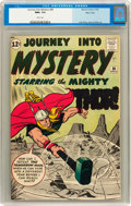 Silver Age (1956-1969):Superhero, Journey Into Mystery #86 Mass. Collection pedigree (Marvel, 1962) CGC NM+ 9.6 White pages....
