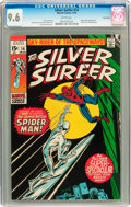 Bronze Age (1970-1979):Superhero, The Silver Surfer #14 Twin Cities pedigree (Marvel, 1970) CGC NM+9.6 White pages....