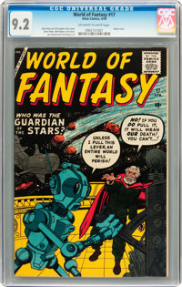 World of Fantasy #17 (Atlas, 1959) CGC NM- 9.2 Off-white to white pages