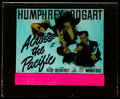 """Movie Posters:War, Across the Pacific (Warner Brothers, 1942). Glass Slide (2.5"""" X3""""). War.. ..."""