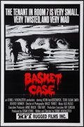 """Movie Posters:Horror, Basket Case and Other Lot (Rugged Films, 1982). One Sheets (2) (25"""" X 38"""", and 27"""" X 41""""). Horror.. ... (Total: 2 Items)"""