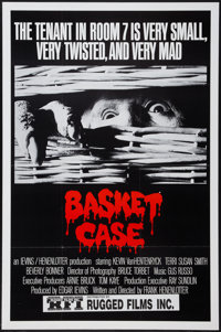 "Basket Case and Other Lot (Rugged Films, 1982). One Sheets (2) (25"" X 38"", and 27"" X 41""). Horror..."