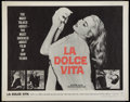 """Movie Posters:Foreign, La Dolce Vita (Astor, 1961). Half Sheet (22"""" X 28""""). Foreign.. ..."""