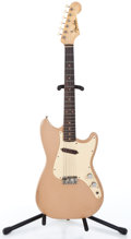 Musical Instruments:Electric Guitars, 1960 Fender Duo-Sonic Desert Sand Solid Body Electric Guitar#49095...