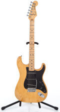 Musical Instruments:Electric Guitars, 1982 Fender Smith Stratocaster Natural Solid Body Electric Guitar #E200900...