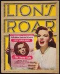 """Movie Posters:Miscellaneous, Lion's Roar (MGM, November,1945). Promotional Book (78 Pages, 11"""" X 14"""" ). Miscellaneous.. ..."""
