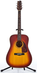 Musical Instruments:Acoustic Guitars, 1980's Fender F-220 SB Sunburst Acoustic Guitar #0602065...
