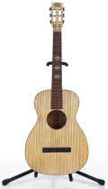 Musical Instruments:Acoustic Guitars, 1940's Oahu Square Neck S-40 Beige Acoustic Guitar #346979...