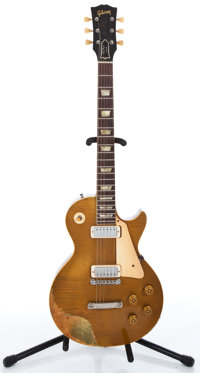 1953 Gibson Les Paul Goldtop Solid Body Electric Guitar #3 1201