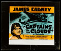 "Movie Posters:War, Captains of the Clouds (Warner Brothers, 1942). Glass Slide (2.5"" X3"" ). War.. ..."