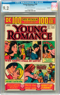 Bronze Age (1970-1979):Romance, Young Romance #199 Savannah pedigree (DC, 1974) CGC NM- 9.2Off-white to white pages....