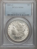 1885-O $1 MS66 PCGS. PCGS Population (2190/157). NGC Census: (3884/490). Mintage: 9,185,000. Numismedia Wsl. Price for p...