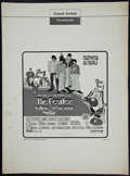 "Movie Posters:Animation, Yellow Submarine (United Artists, 1968). Uncut Pressbook (8 Pages, 13.25"" X 18""). Animation.. ..."