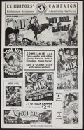 """Movie Posters:Western, My Pal, the King (Universal, 1932). Uncut Pressbook (Six Pages, 11.5"""" X 18""""). Western.. ..."""