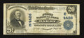 National Bank Notes:Pennsylvania, Darby, PA - $20 1902 Plain Back Fr. 653 The First NB Ch. # (E)4428. ...