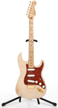 Musical Instruments:Electric Guitars, 1990's Fender Vintage R.I. Mary Kay Blonde Solid Body Electric Guitar #V049547...