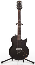Musical Instruments:Electric Guitars, 1975 Gibson L6S Black Solid Body Electric Guitar #401793...