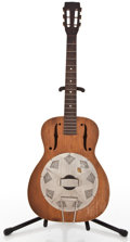 Musical Instruments:Resonator Guitars, 1935 National M Mahogany Resonator Guitar #Z1621...