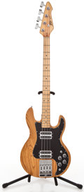 Musical Instruments:Bass Guitars, 1970's Peavey T-40 Natural Electric Bass Guitar #01013857...