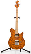 Musical Instruments:Electric Guitars, Recent OLP Axis Orange Solid Body Electric Guitar...