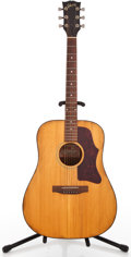 Musical Instruments:Acoustic Guitars, 1975 Gibson J-55 Natural Acoustic Guitar #A60426...