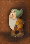 Animation Art:Production Cel, Snow White and the Seven Dwarfs Production Cel Animation Art(Disney, 1937)....