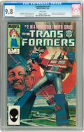 Modern Age (1980-Present):Superhero, Transformers #1 (Marvel, 1984) CGC NM/MT 9.8 White pages....