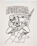 Original Comic Art:Illustrations, John Romita Sr. Amazing Spider-Man Marvel PosterIllustration Original Art (1978).... (Total: 2 Items)