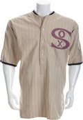 "Baseball Collectibles:Uniforms, 1920 Urban ""Red"" Faber Game Worn Chicago White Sox Uniform...."