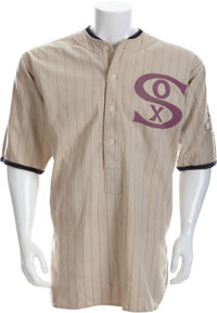 "1920 Urban ""Red"" Faber Game Worn Chicago White Sox Uniform"