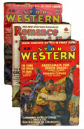 Pulps:Western, Assorted Western Pulps Group (Various, 1937-42) Condition: Average VG+....
