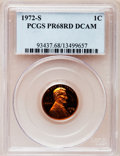 Proof Lincoln Cents: , 1972-S 1C PR68 Deep Cameo PCGS. PCGS Population (255/70). NGCCensus: (58/16). Numismedia Wsl. Price for problem free NGC/...