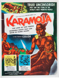 Memorabilia:Poster, Karamonja Movie Poster (Hallmark Attractions, 1955)....