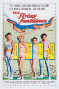 Memorabilia:Poster, The Flying Fontaines Movie Poster (Columbia, 1959)....