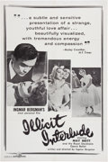 Memorabilia:Poster, Illicit Interlude Movie Poster (Janus)....