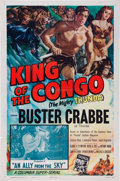 Memorabilia:Poster, King of the Congo Movie Poster (Columbia, 1952)....