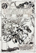 Original Comic Art:Covers, Mike Grell The Warlord #18 Cover Original Art (DC, 1979)....