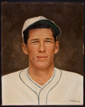 Baseball Collectibles:Others, Lefty Grove Original Artwork....