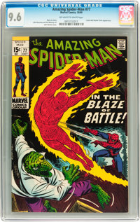 The Amazing Spider-Man #77 (Marvel, 1969) CGC NM+ 9.6 Off-white to white pages