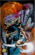Original Comic Art:Covers, Simon Bisley Marvel Comics Presents #173 Cover Original Art (Marvel, 1995)....