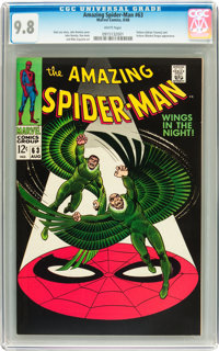 The Amazing Spider-Man #63 (Marvel, 1968) CGC NM/MT 9.8 White pages