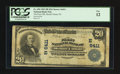National Bank Notes:Pennsylvania, Mount Union, PA - $20 1902 Plain Back Fr. 650 The First NB Ch. # (E)6411. ...