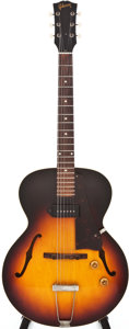 Musical Instruments:Electric Guitars, 1959 Gibson ES-125T Sunburst Archtop Electric Guitar, #S2450....